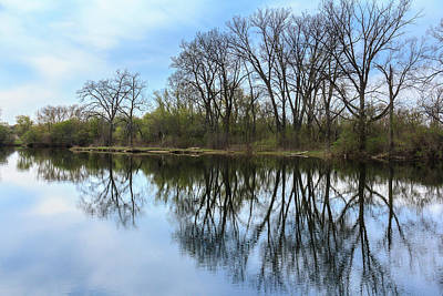 Photograph - Calm Waters At Wayne Woods by Joni Eskridge