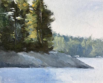 Painting - Calm Waters by Chris Rice