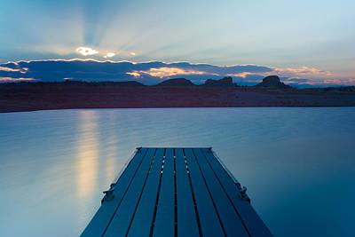 Desert Lake Photograph - Calm Waters by Hudson Marsh