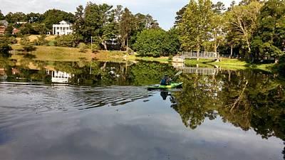 Photograph - Calm Waters Kayak by Allen Nice-Webb
