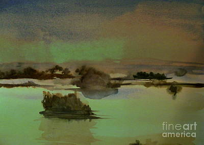 Digital Art - Calm Waters by Nancy Kane Chapman