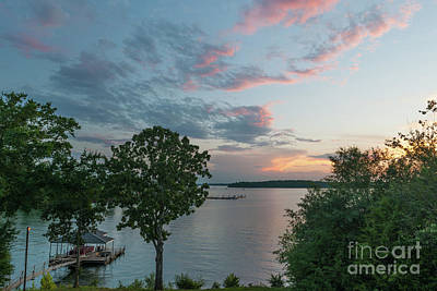 Photograph - Calm  Waters Sunset by Dale Powell
