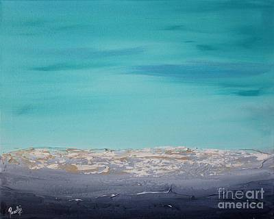 Painting - Calm Waves 2 by Preethi Mathialagan