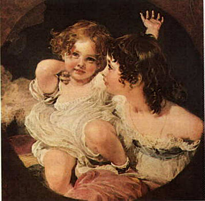 Digital Art - Calmady Children Bgg by Sir Thomas Lawrence
