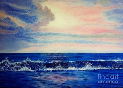 Calming Wave Art Print