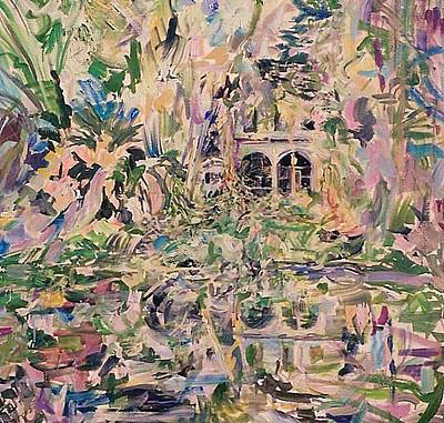 Painting - Caloosa Belle by Caroline Krieger Comings