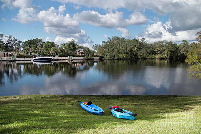 Photograph - Caloosahatchee Kayaking by Judy Hall-Folde