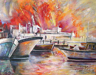 Modern Kitchen - Calpe Harbour Spain by Miki De Goodaboom