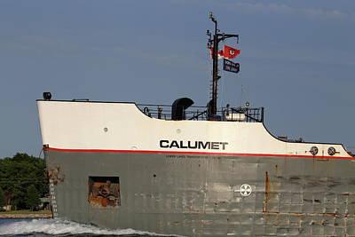 Photograph - Calumet Closeup 2 061518 by Mary Bedy