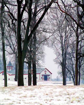 Calumet Winter Art Print
