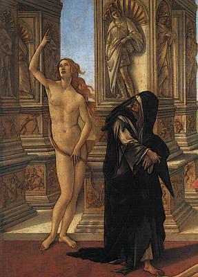 Digital Art - Calumny  by Sandro Botticelli