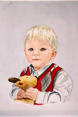Painting - Calvin by Diane Ziemski