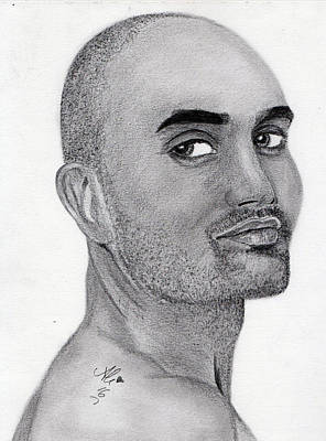 Male Nude Drawing Drawing - Calvin Klein Man by Bobby Dar