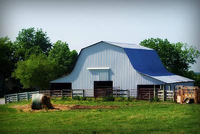 Photograph - Calvin Road Barn by Cricket Hackmann