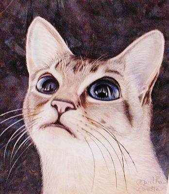 Painting - Calvin The Cat by Martha Ayotte