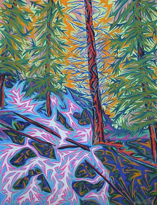 Painting - Calypso Falls by Robert SORENSEN