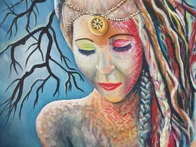 Painting - Calypso by Katerina Roy