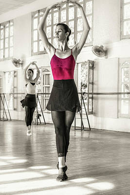 Photograph - Camaguey Ballet 1 by Lou Novick