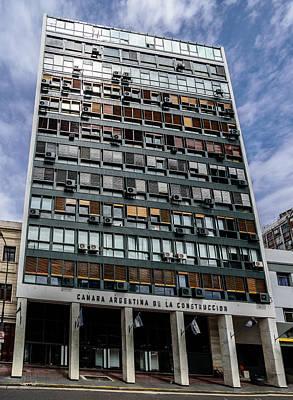 Photograph - Camara Argentina De La Construccion by Randy Scherkenbach