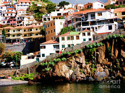 Photograph - Camara De Lobos On The Island Of Madeira by Brenda Kean