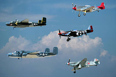 Photograph - Camarillo Air Show Flyby by Joe  Palermo