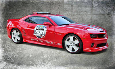 Photograph - Camaro Pace Car by Victor Montgomery