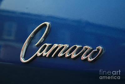 Photograph - Camaro by Tony Baca