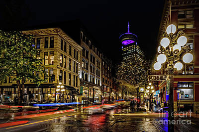 Canada Photograph - Gastown. History Of Vancouver. by Viktor Birkus