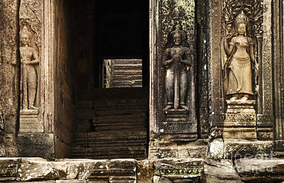 Photograph - Cambodia Architecture 1 by Bob Christopher