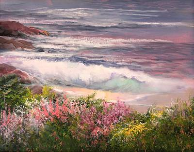 Cambria Painting - Cambria Spring by Sally Seago