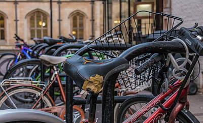 Photograph - Cambridge Bikes by David Warrington