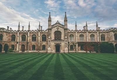 Building Photograph - Cambridge by Ca Photography