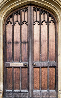 Photograph - Cambridge Door by Jean Noren