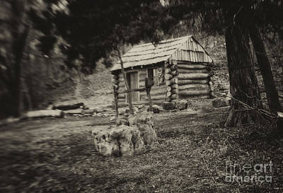 Photograph - Cambridge Log Cabin by Fred Lassmann
