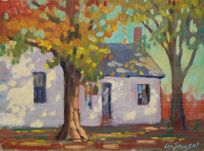 Painting - Cambridge New York by Len Stomski