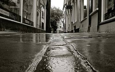 Photograph - Cambridge Pavement by David Warrington