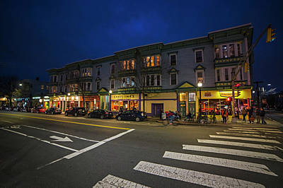 Photograph - Cambridge Street Cambridge Ma Christina's by Toby McGuire