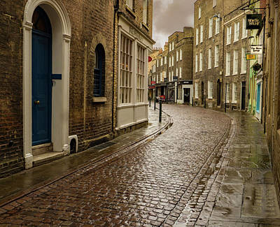 Photograph - Cambridge Street Scene by Jean Noren