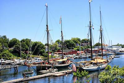 Photograph - Camden Harbor #2 by Marcia Lee Jones