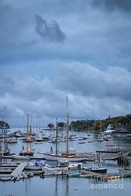 Photograph - Camden Harbor Maine by Elizabeth Dow