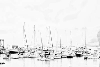 Photograph - Camden Harbor Maine by Marcia Lee Jones