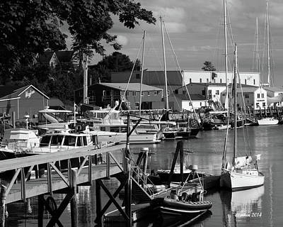 Photograph - Camden Maine 5 by Dick Botkin