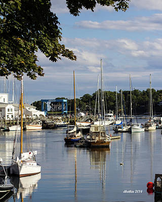 Photograph - Camden Maine 6 by Dick Botkin