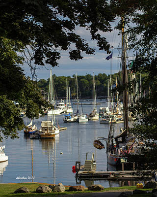 Photograph - Camden Maine 7 by Dick Botkin