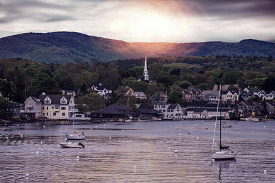 Photograph - Camden Maine by Mike Braun