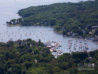 Camden Maine Art Print by Ursula Lawrence