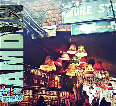 Digital Art - Camden Market by Jan Steadman-Jackson