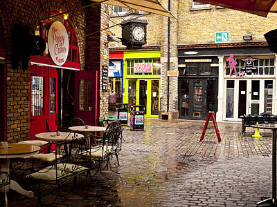 Camden Stables Market Art Print by Rae Tucker