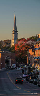 Photograph - Camden Steeple by Tim Kathka