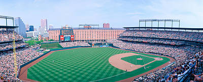 Pitching Photograph - Camden Yard Stadium, Baltimore, Orioles by Panoramic Images